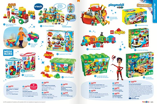 Prospectus Toys'R'us pour Noël 2018