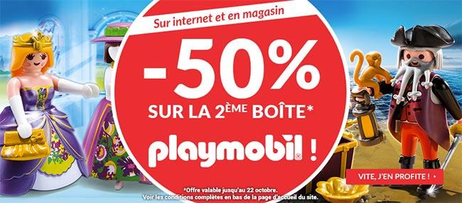Promo Playmobil à La Grande Récrée