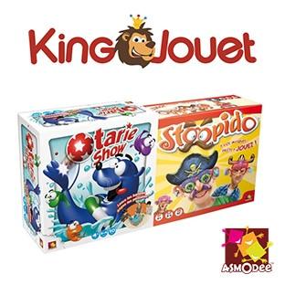 Promo King Jouet : 2 jeux Asmodee à 9,99€ au lieu de 22,48€
