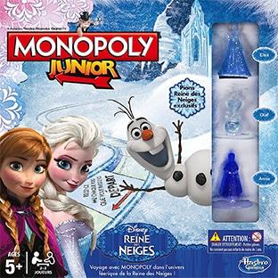 Promo Amazon Prime : Monopoly La Reine des Neiges à 9,99€