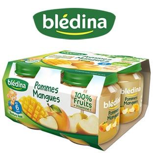 Rappel Pots bébé Blédina : Impropres à la consommation
