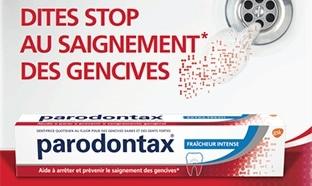 Test dentifrice Parodontax : 10'000 gratuits + échantillons