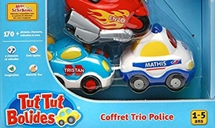 Promo Amazon : Coffret Trio Tut Tut Bolide à 10,44€