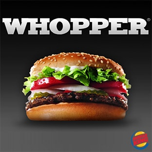 Burger King Zombie Whopper : ancien ticket = sandwich gratuit