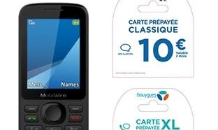 Auchan : Téléphone + carte de 10€ gratuits