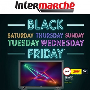 Catalogue Black Friday Intermarché : Plus de 100 remises !