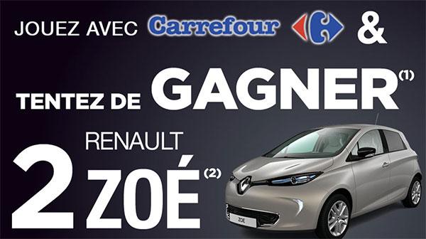 Tentez de remporter une Renault Zoé