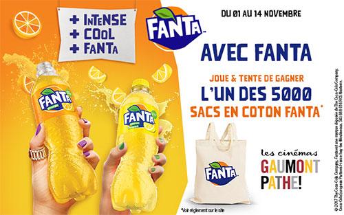 remportez un tote-bag Fanta aux instants gagnants