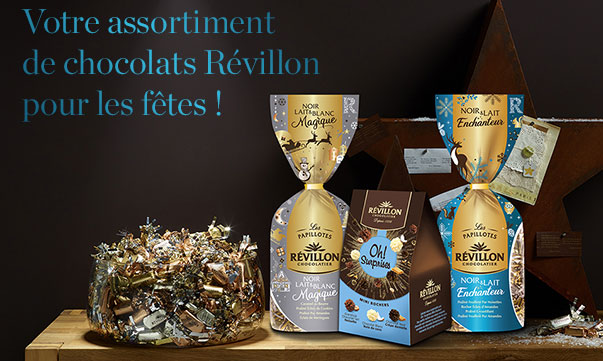 Les chocolats Révillon à gagner