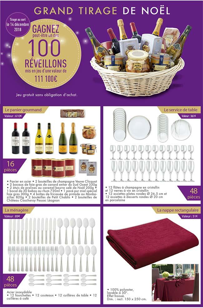 Cadeau : remportez le repas de votre réveillon