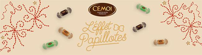gagnez votre lot de papillotes en chocolat Cémoi