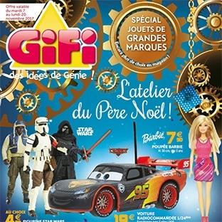 Catalogue de Noël Gifi 2017 : Jouets et décos à petits prix