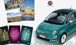 Jeu Carrefour Location : voiture, week-end et cartes cadeaux