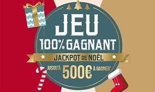 Jeu Cdiscount Noël : 9026 bons d'achat de 10€ à 500€