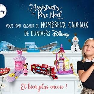 Jeu de Noël avec Parents : 22 jouets Disney à gagner