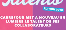 Concours Top Talents Carrefour : 90 cartes cadeaux, voyage…