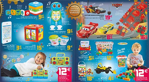 Jouets Noël catalogue de Gifi