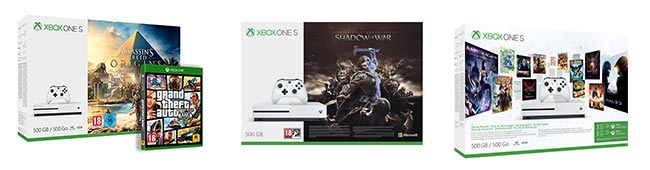 Pack Xbox One S en promo sur Amazon