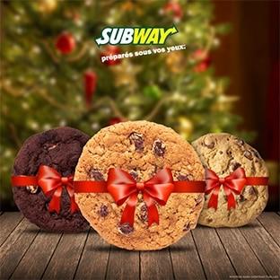 Parlez-nous de Subway : 1 avis = 1 cookie gratuit