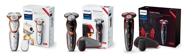 testez les Rasoirs électriques Philips Star Wars