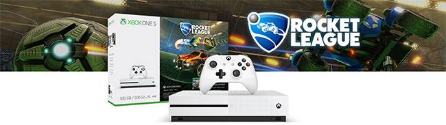 Réduction de 100€ sur le pack Xbox One S Rocket League