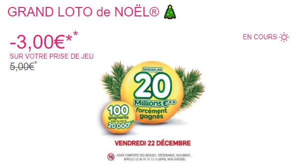 réduction Shopmium pour le Loto de Noël