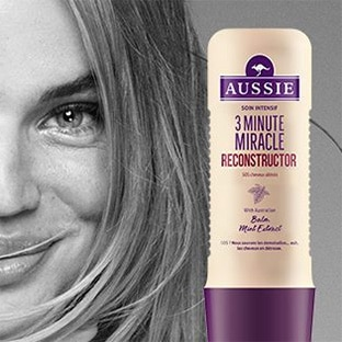 Test Aussie : 9000 soins capillaires 3 Minute Miracle gratuits