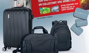 Auchan : Vignettes Bugatti pour maroquinerie
