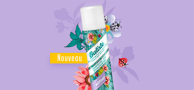 Shampoing sec Batiste Wildflower à tester