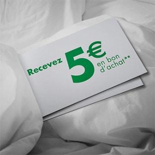 Carrefour recyclage = Reprise textile contre 5€ en bon d'achat