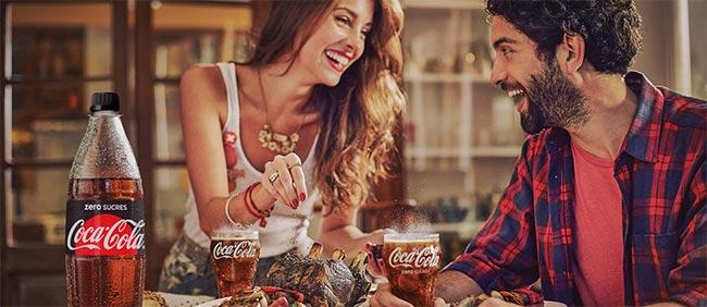 Pack de Coca-Cola moins cher grâce au coupon de réduction