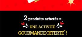 Les Crudettes : 2 produits achetés = Activité Wonderbox offerte
