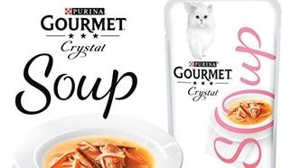 Échantillons gratuits pour chats : Purina Gourmet Crystal Soup