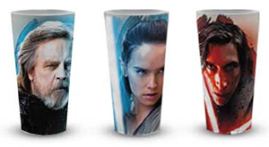 gobelets collector Star Wars à gagner avec Coca-Cola