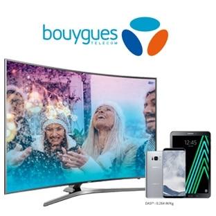 Jeu de Noël Bouygues Telecom : Galaxy S8, tablettes, TV