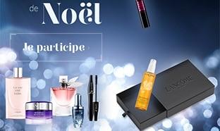 Jeu de Noël Marie Claire : 12 box de produits Lancôme à gagner