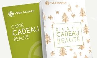 Jeu Fêtes en beauté Yves Rocher : Cartes cadeaux à gagner