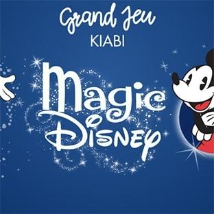 Jeu de Noël Kiabi : 1 séjour à Disney World et 47 lots Disney