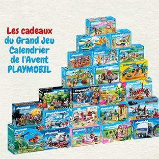 Calendrier L Avent Playmobil.Jeu Gulli Calendrier De L Avent 169 Lots Playmobil A Gagner