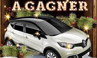 Jeu Noël Intermarché : 8 voitures Renault Captur à gagner