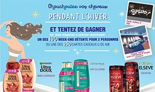 Magasins U Jeu Chouchouter : 100 week-ends & 250 bons de 40€