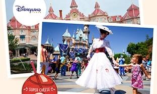 Jeu Ribambel : Séjour à Disneyland Paris et 500 verres Babybel