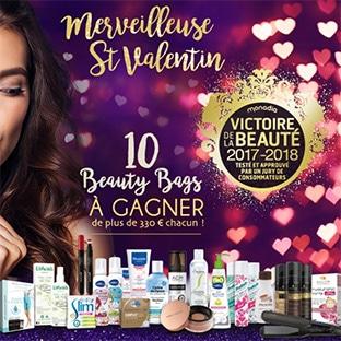 10 Beauty Bags (avec + de 330€ de produits de beauté) à gagner