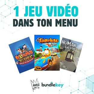 Kool King Burger King : menu enfant acheté = jeu vidéo offert