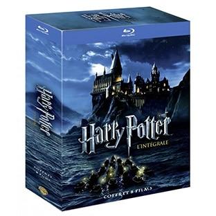 L'intégrale Harry Potter pas chère (20€ en Blu-ray / 15€ en DVD)