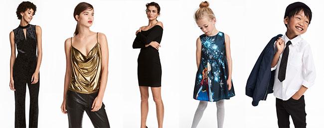 H&M : Promotions de fin d'année sur les tenues de soirée
