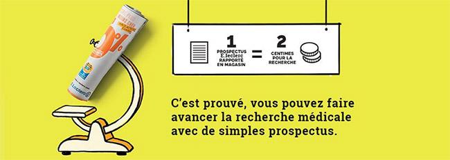 Rapportez vos prospectus Leclerc en magasin = recyclage utile