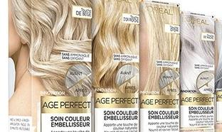 Test L'Oréal Paris : 100 soins Couleurs Age Perfect gratuits