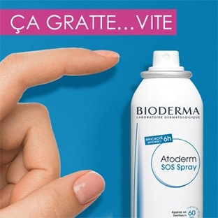 Test Bioderma : 500 sprays Atoderm SOS gratuits