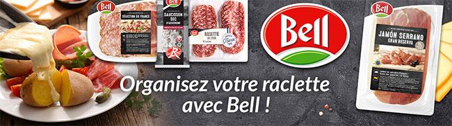 50 colis gratuits pour préparer une Raclette Party avec les charcuterie Bell